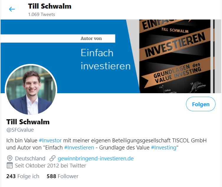 Twitter Till Schwalm Referenz Social Media Eva Nachbauer-Schwalm