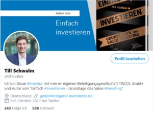 Twitter Till Schwalm Referenz Eva Nachbauer-Schwalm